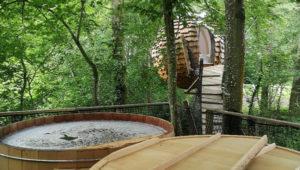 week-end amoureux dans les arbres Domaine des Vaulx