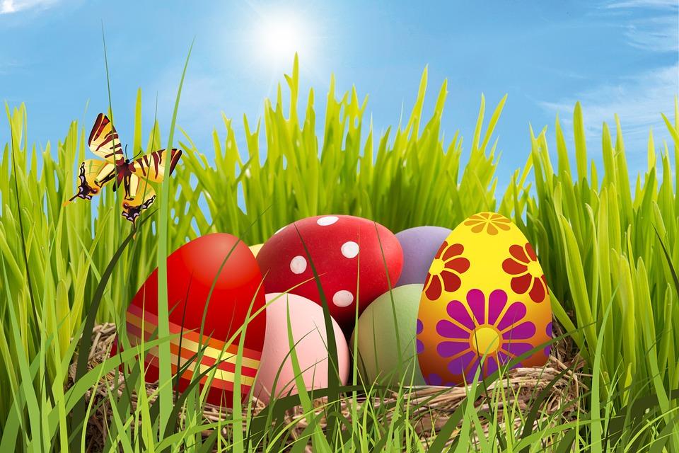 21 et 22 avril : Chasse aux oeufs aux Jardins des Renaudies