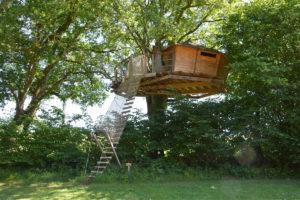 Cabane New York, cabane perchée à 7 m du sol