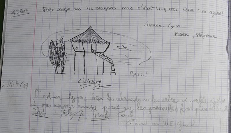 cabane Lisbonne, hyper bien les cabanes dans les arbres